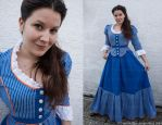 Victorian Inspired Summer Steampunk Dress by MADmoiselleMeli