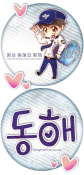 DongHae Enlist Fanproject Fan by velmadzik