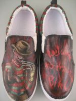 Freddy Krueger Shoes by Acrylicolt