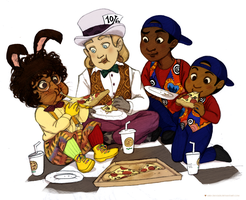 Pizza Time by Mrs-Crocker