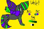 Mist's Next Genoration: Violet the Umbreon by FearlessMist