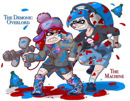Squids for DAYS by IamSare