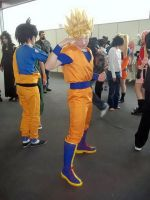 Cosplay Goku Super Saiyan! by Alexcloudsquall