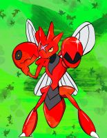 Wild Scizor Appeared by chompimas