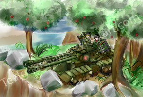 Pravda's answer to the Maus by TealGuardian