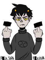 Karkat on SOPA and PIPA by NoahAllston