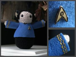 Spock Amigurumi by fleetingdawn