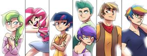 Next Gen Humanized by kilala97
