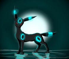 Umbreon by Flamestar21