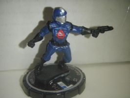 Cobra Commander custom heroclix by S-Chirdon-Art