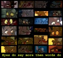 Eyes say more then words do by StanHoneyThief