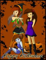 Happy Halloween Gals by Inked-Alpha