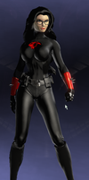 Baroness (DC Universe Online) by Macgyver75
