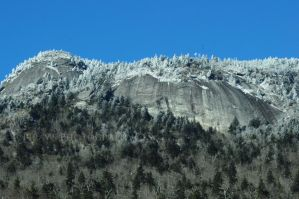 Backside of Grandfather Mountain by Pi-ray