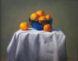 'Orange' and Blue by BClary