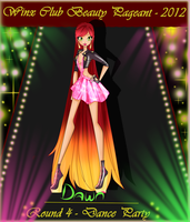 Winx Club beauty pageant round four - Dawn by 4cherryjuice