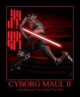 Cyborg Darth Maul II by katarnlunney