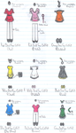 Angry Birds Toons Fans Outfits by Soniclifetime
