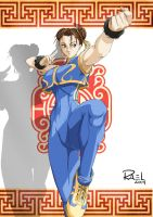 Chun Li, from Street Fighter Zero by IsRael666
