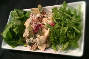 Apple and Brussels Salad by PrYmO-ART