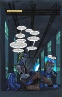 QONQR Page 1 lettered by JoeyVazquez