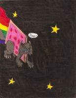 Nyan cat by Hot-Columbine-Memes
