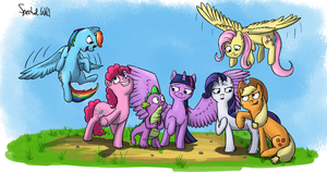 COLOURFUL TALKING MAGIC-HORSES! by TheSpectral-Wolf