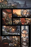 WoW Curse of the Worgen 5 pg14 by Tonywash