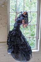 Stock - the witch at the window 3 by S-T-A-R-gazer