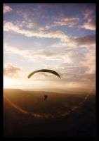 Paragliding :: 2 by Aizxana