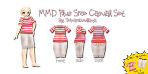 MMD Plus Size Casual Set by Tehrainbowllama