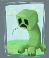 Sad Creeper by anniemae04