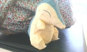 Cyndaquil Papercraft by ACGamer2