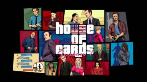 House of cards GTA mashup vector wallpaper by akyanyme