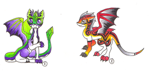 Baby Dragon Adopts (CLOSED) by Ultralee0