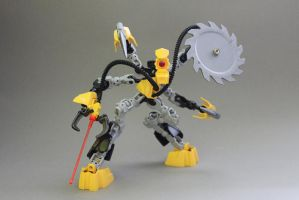Tiny little crazy cyclop by exxtrooper