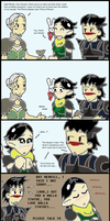 Dragon Age 2: Merrill Logic by bookwormcat