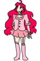 pink magical girl something adopt -OPEN- by SpellboundBunny