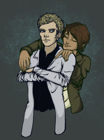 A Sparrow and a Doctor by crazyinksplatter