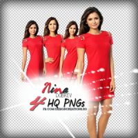 Png Pack Nina Dobrev by DesignCreationsOffi