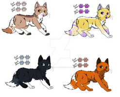 .:Draw to adopt:. Adopatables by KawaiiKittenz