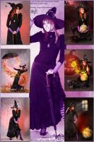 Halloween: Vintage Witch Violetta (preview) by Lucithea