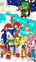 sonic pokemon christmas contest by 4sonicfan