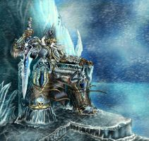 Lich king by Deadguybeer