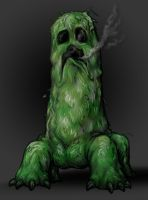 Portrait of a Creeper by AIBryce