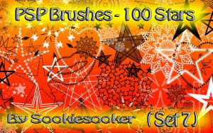 Free PSP Brushes 7 by Sookie by sookiesooker