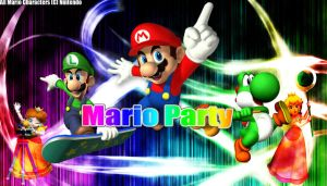 Mario Party Fantasy Wallpaper by JRDN762