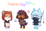Thanks for 100+ Watchers! by Boddbby
