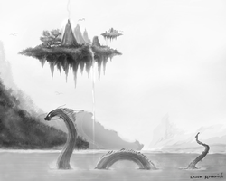 Leviathan's Lake by kigamonsta