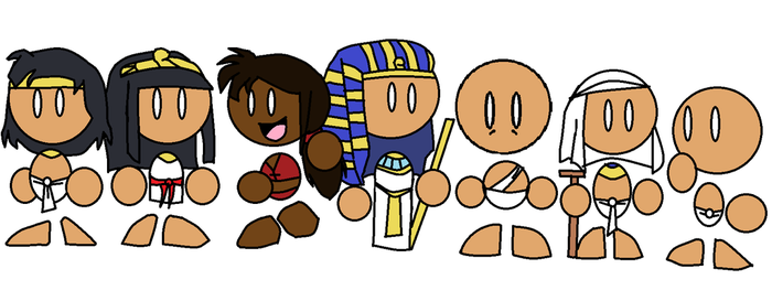 Papyrus Characters by PPapyrus